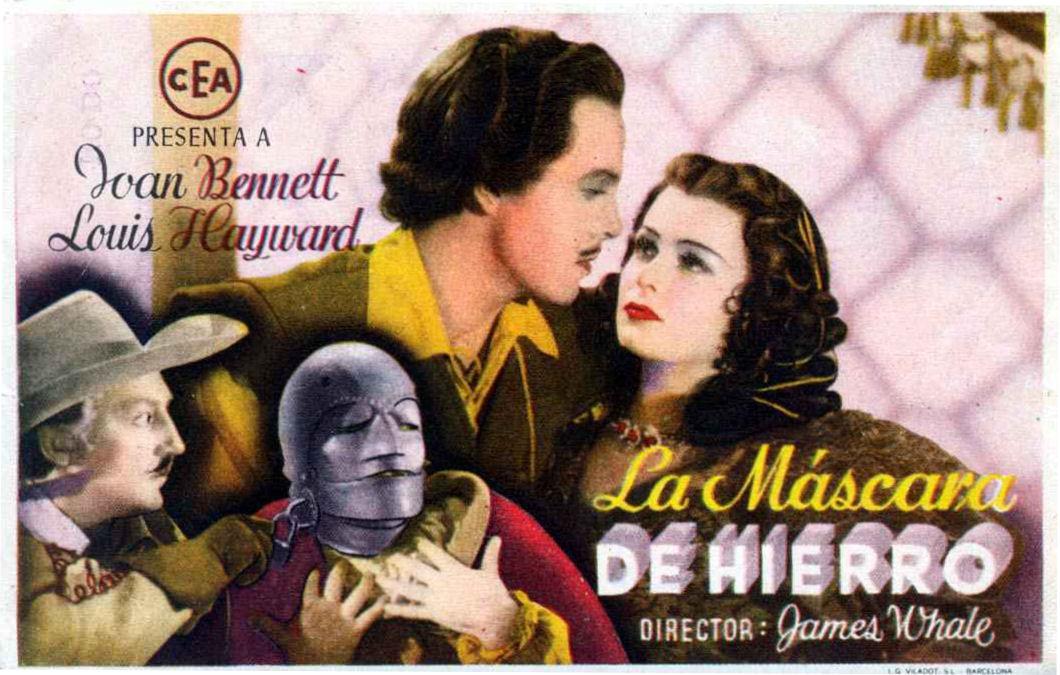Человек в железной маске фильм 1939