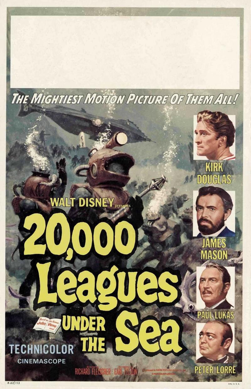 20 000 лье под водой (1954) | Смотреть онлайн старые фильмы на ...
