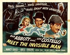 Эбботт и Костелло встречают человека-невидимку (1951)